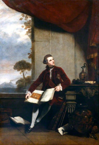 NPG 680; Sir William Hamilton by Sir Joshua Reynolds